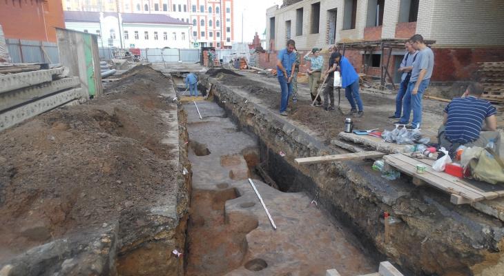 В Йошкар-Оле под землей нашли усадьбу 18 века