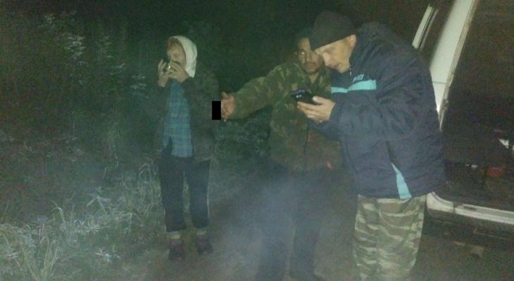 Спасатели за сутки вывели из леса двух жителей Марий Эл
