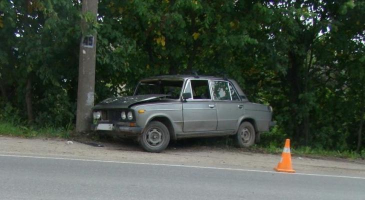 Пьяный водитель на «шестерке» устроил ДТП в Йошкар-Оле