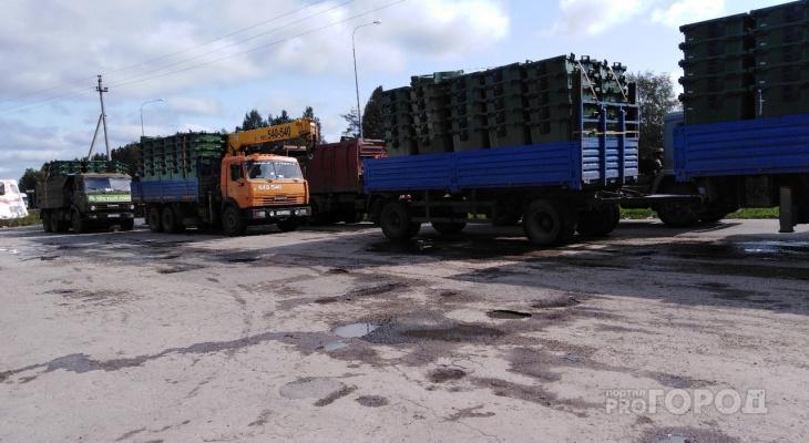 Свершилось: в Волжск впервые отправили 500 современных контейнеров