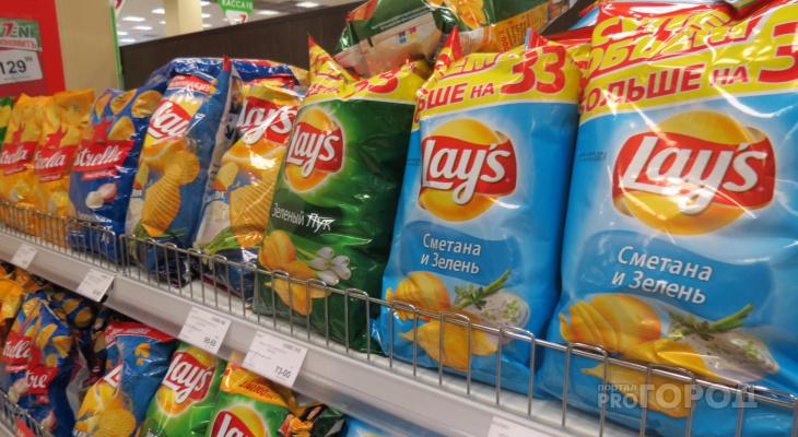Инициатива Минздрава: йошкаролинцы не смогут есть чипсы и пить газировку