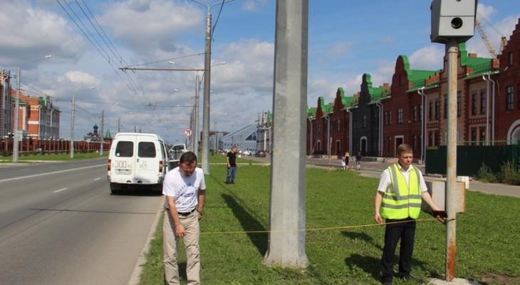 Общественники Йошкар-Олы нашли камеры, которые стояли в неположенном месте
