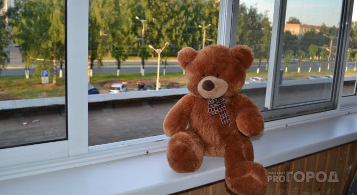В Йошкар-Оле из окна третьего этажа выпал трехлетний ребенок