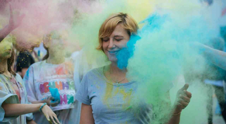 Краски, мыльные пузыри и эмоции: йошкаролинцы зажгут на ярком летнем фестивале