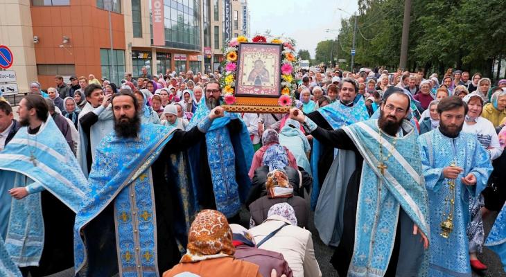 Православные верующие пешком обойдут храмы и церкви Марий Эл