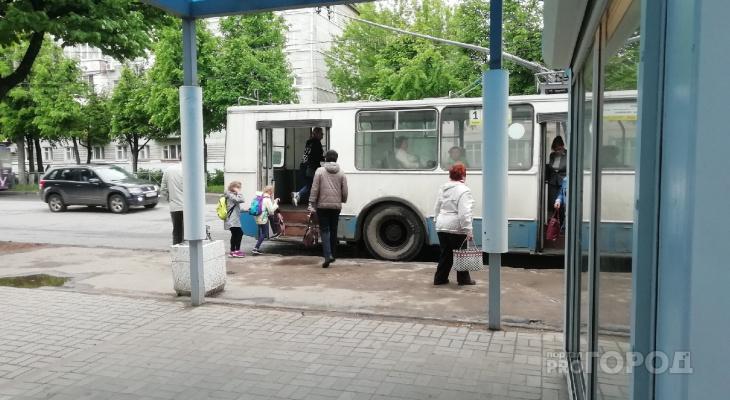 До четверга в Йошкар-Оле два троллейбуса изменят маршрут