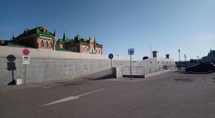 Новый дорожный знак появился на Архангельской слободе в Йошкар-Оле