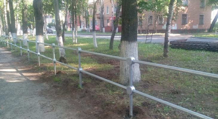 Йошкаролинцы недовольны установкой дорожных ограждений по всему городу