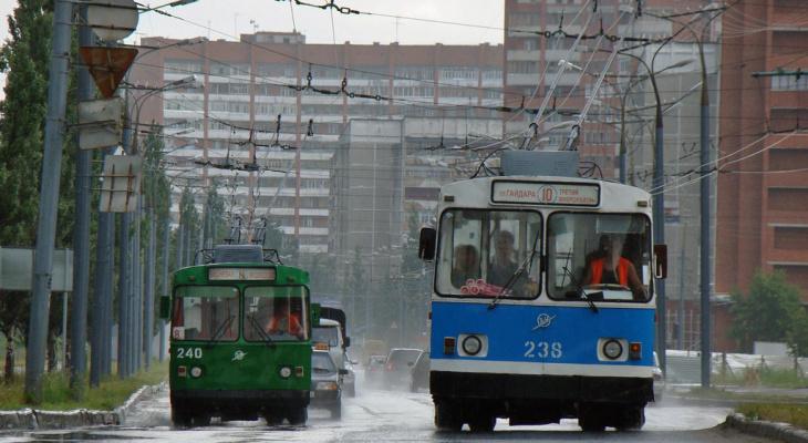 Завтра троллейбусы в Йошкар-Оле изменят свои маршруты