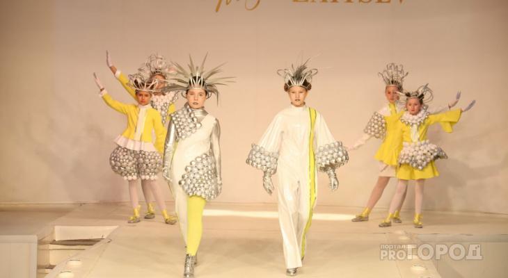 Юные йошкаролинцы выступили на показе мод у известного модельера Вячеслава Зайцева