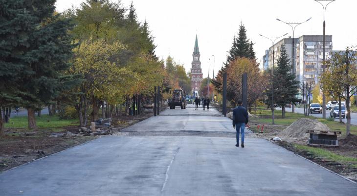 Новый облик бульвара Чавайна йошкаролинцы увидят в ноябре