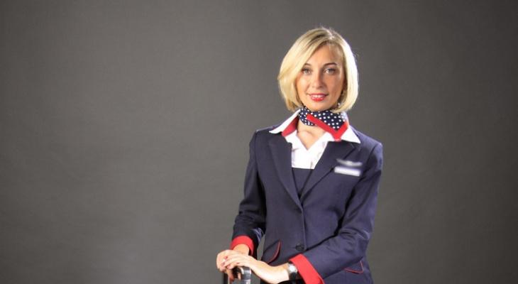 О сексе на борту самолета, страхах и прыжках с парашютом рассказала стюардесса из Йошкар-Олы