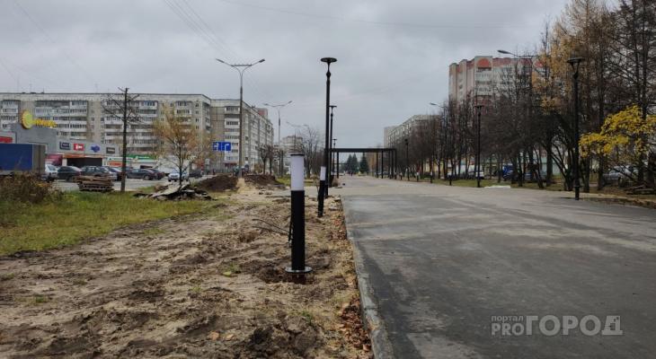 Йошкаролинцы возмущены «бульваром кривых фонарей» в центре города