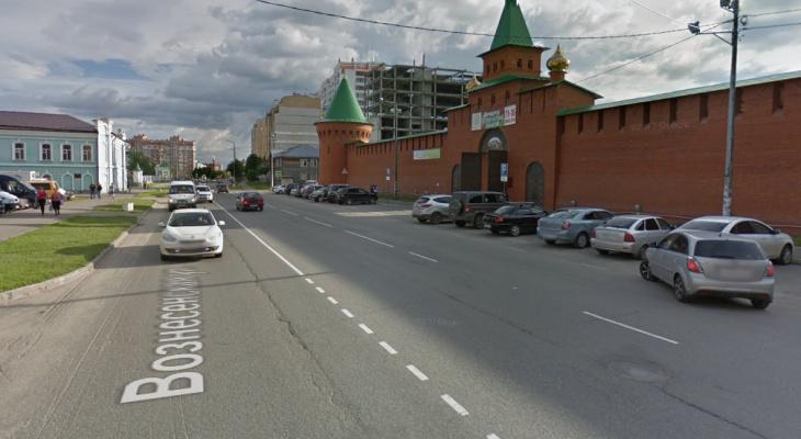 В Йошкар-Оле из-за строительных работ на две недели закроют Вознесенскую