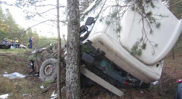 В Марий Эл погибли пассажиры при столкновении фуры, такси и «четырнадцатой»