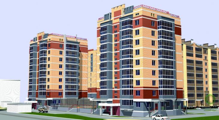 Уютный дом и встроенный паркинг: в центре Йошкар-Олы строится жилье комфорт-класса