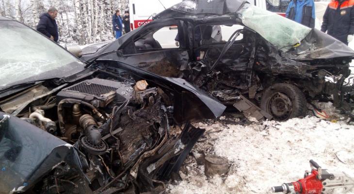 Смертельное ДТП на Оршанском тракте: спасателям пришлось извлекать тела погибших