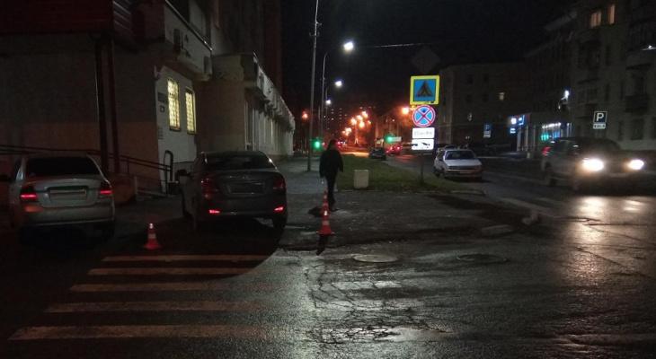 Сдавал назад: в Йошкар-Оле ищут очевидцев ДТП около травмпункта