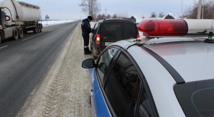 Рейд на трезвость: водителей в Марий Эл заставили «дыхнуть в трубочку»