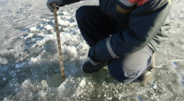 Появились трещины: известно, где на Малой Кокшаге в Йошкар-Оле опасно выходить на лед