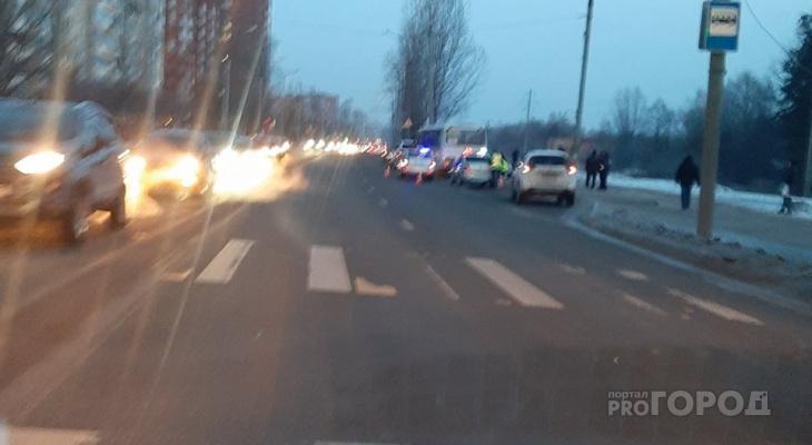В Йошкар-Оле на Ленинском проспекте ПАЗик насмерть переехал мужчину