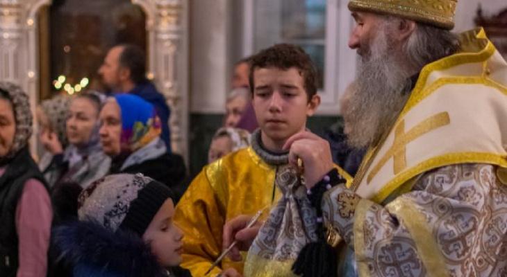 Митрополит поздравил жителей Марий Эл с Рождеством