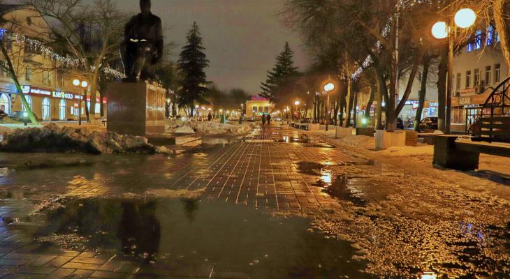 О погоде в Йошкар-Оле - ожидается мокрый снег и дождь