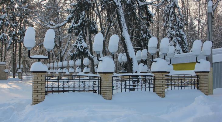 В выходные Йошкар-Олу «накроет» снег