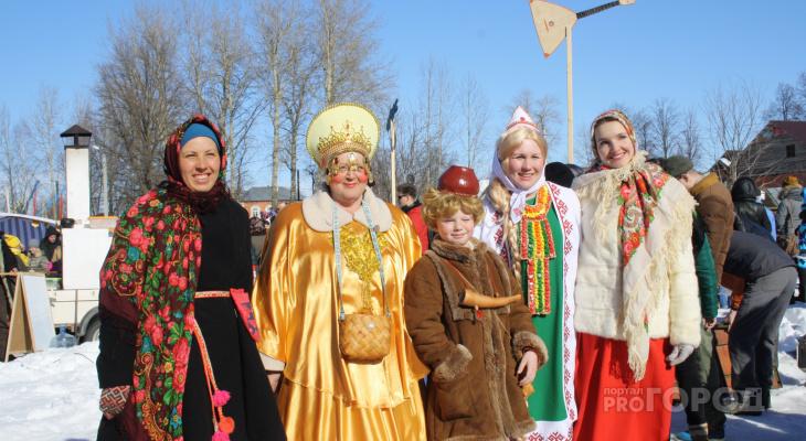 В первый день весны йошкаролинцы отметят Масленицу на Кокшаге
