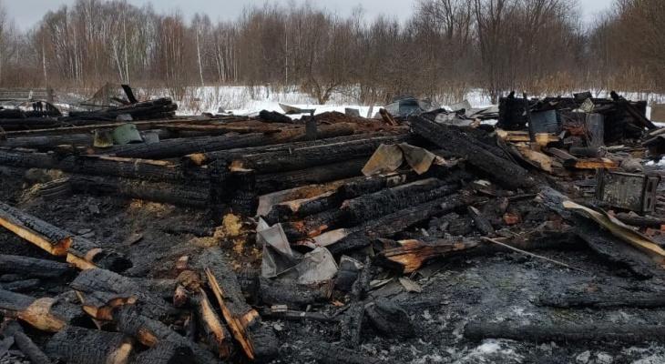 Тело жителя Марий Эл, погибшего в пожаре, обнаружили на следующий день