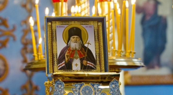 Йошкаролинцы могут попросить о здравии и поклониться мощам святителя Луки Крымского