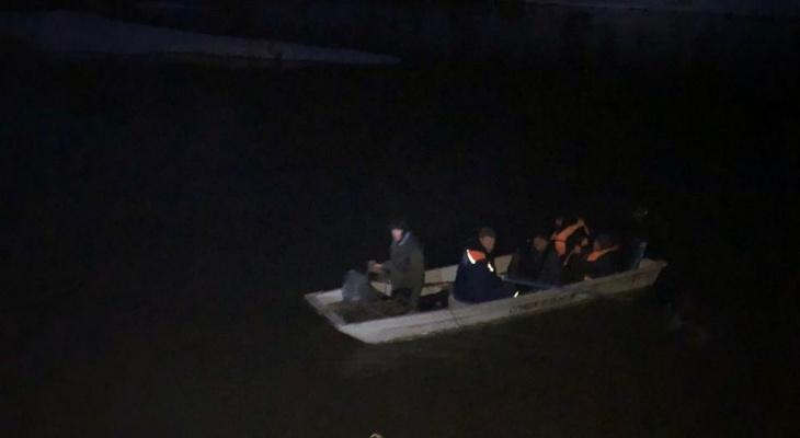 Семь туристов потерпели бедствие на реке Илеть в Марий Эл