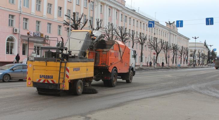 На улицы Йошкар-Олы вышел «десант чистоты»