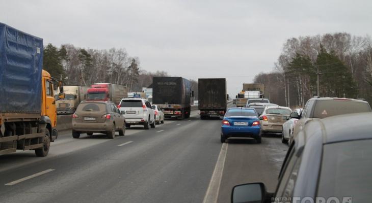 Стало известно, когда для большегрузов «закроют» трассы в Марий Эл
