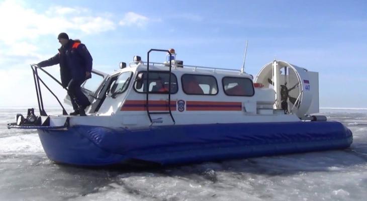 В Марий Эл на реке оторвало льдину с четырьмя нижегородскими рыбаками