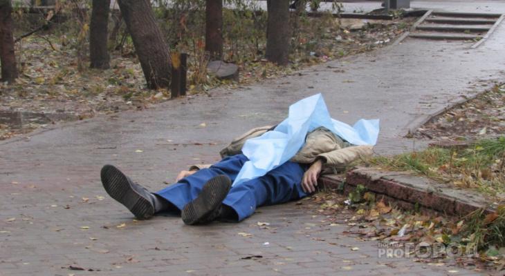 В Йошкар-Оле на Машиностроителей под балконами нашли тело мужчины