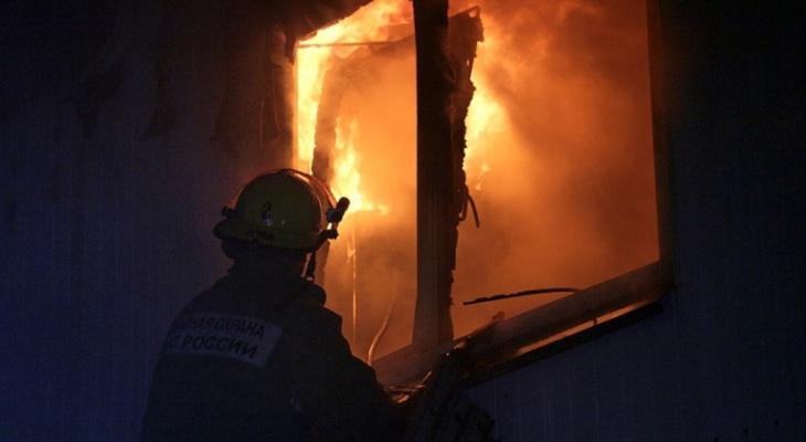 «Это был поджог»: в Звенигово загорелся многоквартирный дом