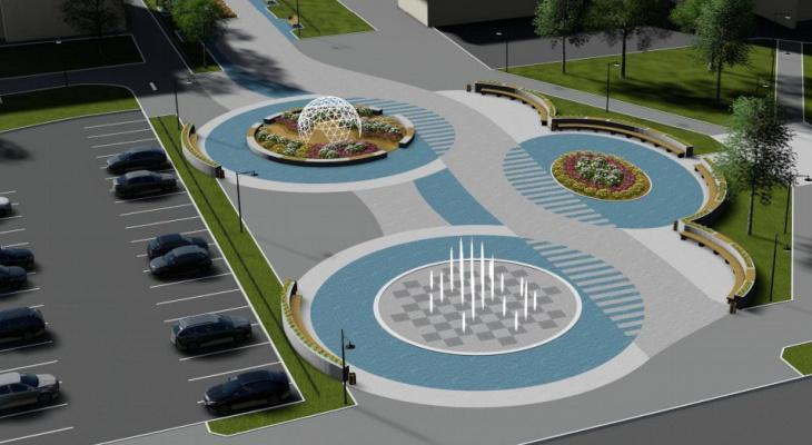 «Светодиоды, фонтан и зона отдыха»: как изменится сквер Свирина в Йошкар-Оле
