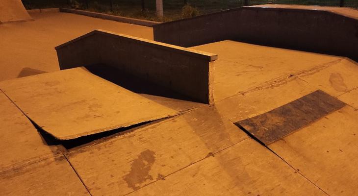 Йошкаролинцы сообщают о разрушении единственного в городе скейт-парка