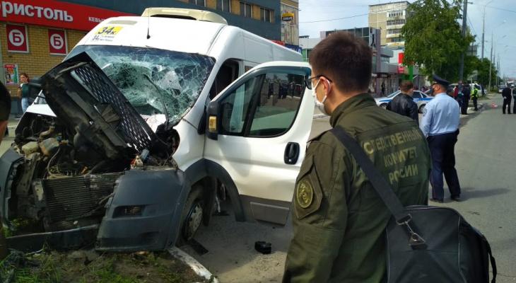 В Йошкар-Оле следователи начали проверку после смертельного ДТП с маршруткой