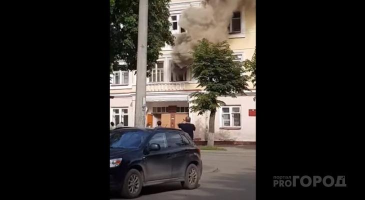 В Йошкар-Оле студент устроил пожар в общежитии