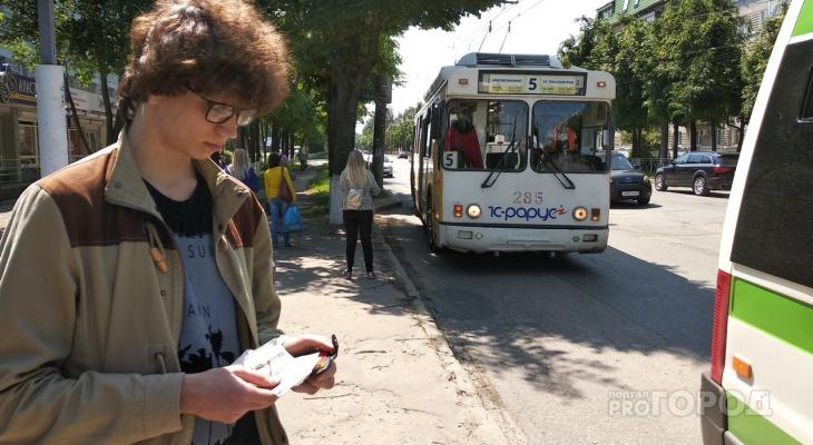 С понедельника увеличат количество троллейбусов на маршрутах Йошкар-Олы
