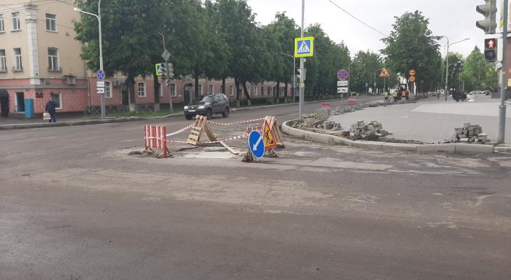 В Йошкар-Оле перекроют две улицы из-за ремонта дорог