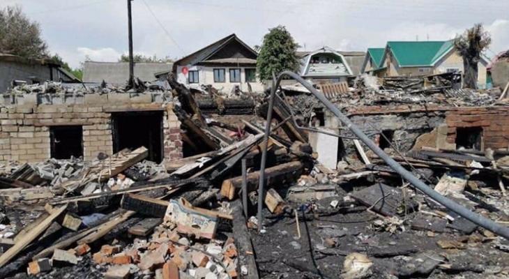 Пожар лишил крыши над головой семью из Марий Эл
