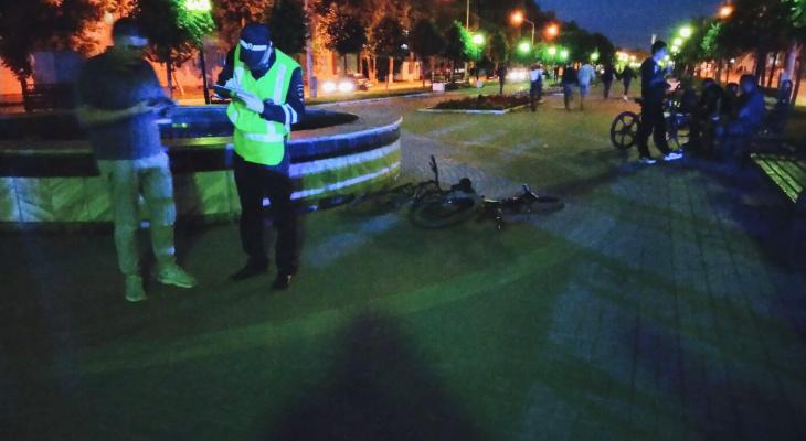 Столкновение двух велосипедистов в Йошкар-Оле закончилось переломом