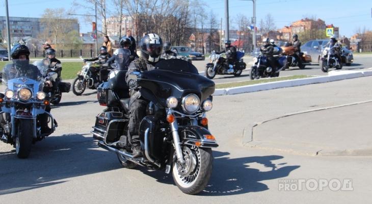 За опасное вождение байкеров и мотоциклистов из Марий Эл могут наказывать