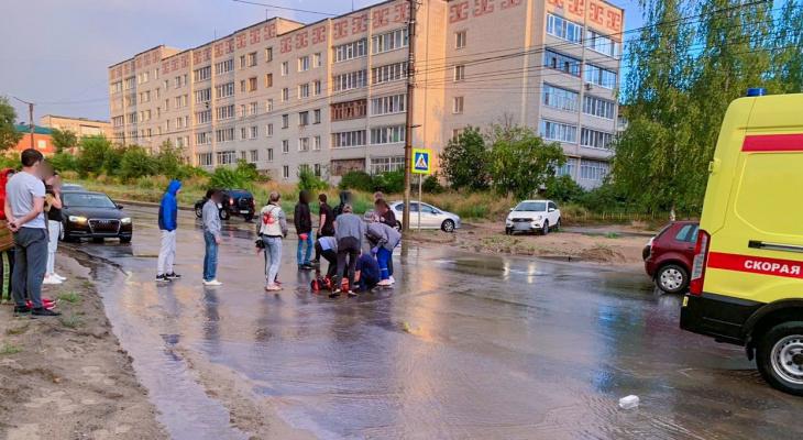 Известны обстоятельства ДТП в Волжске, где на переходе сбили девушку