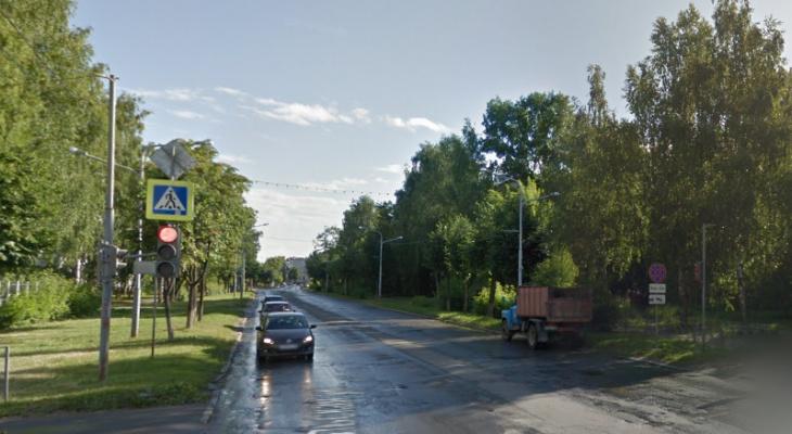 В Йошкар-Оле больше двух недель будет перекрыта Комсомольская