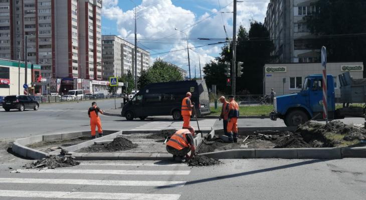 «Островки безопасности» появятся для пешеходов в Йошкар-Оле