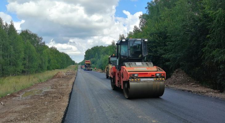 В Марий Эл полным ходом идет ремонт автодорог